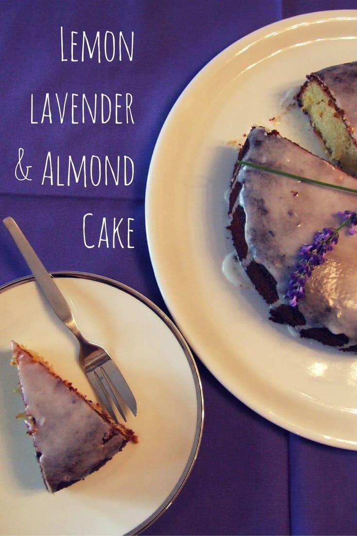 Food Lavender Cake