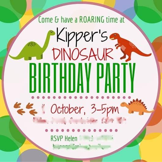 Kipper's EPIC Dinosaur Birthday Party!